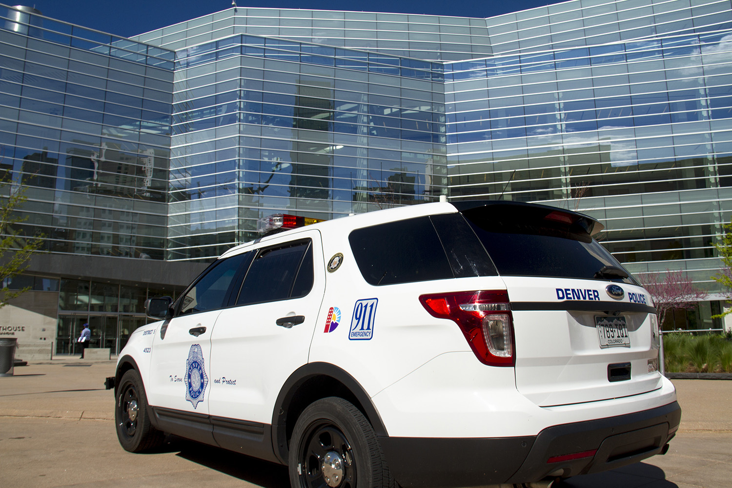 A Denver Police Department car. (Kevin J. Beaty/Denverite)