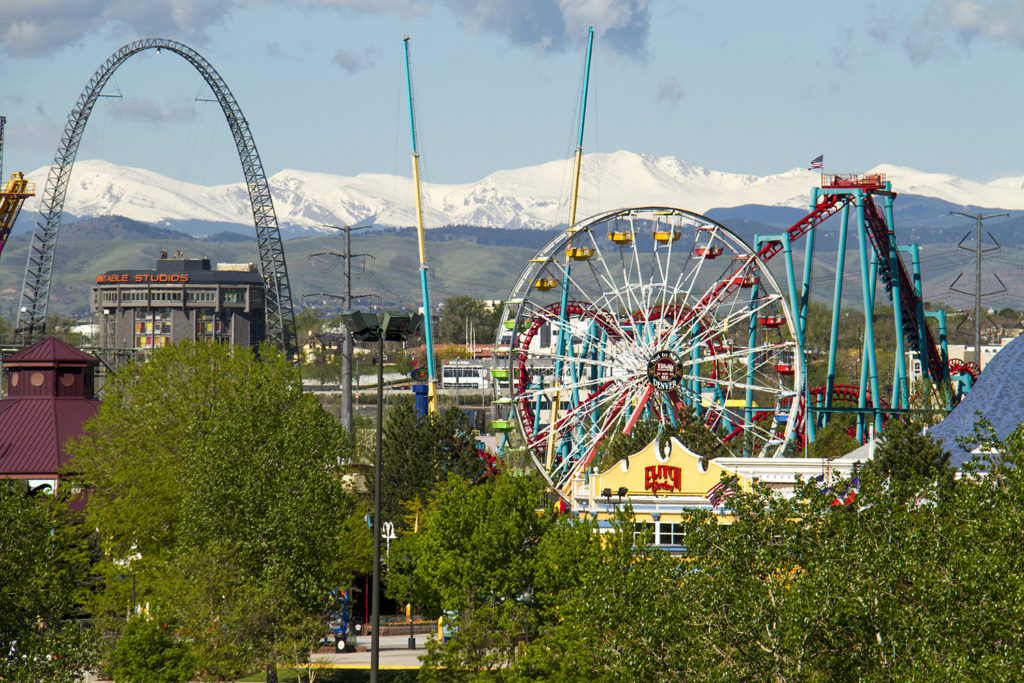 Elitch Gardens near downtown Denver. (Kevin J. Beaty/Denverite)