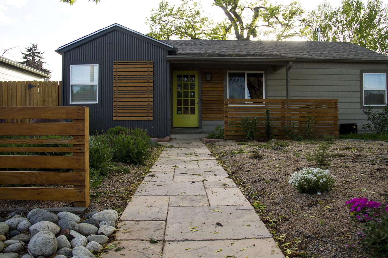 A recently-flipped house in Denver's Chaffee Park neighborhood.  denver; colorado; chaffee park; highlands; kevinjbeaty; megan arellano; flip; development; homes; houses; property values