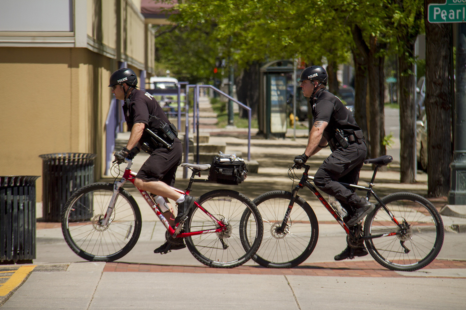 Denver law enforcement. (Kevin J. Beaty/Denverite)