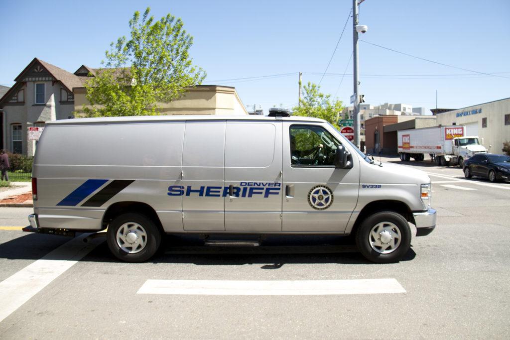 Denver law enforcement. (Kevin J. Beaty/Denverite)