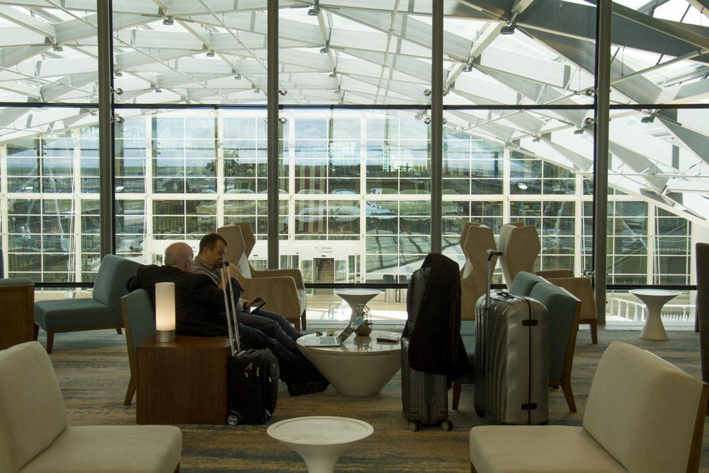 Denver International Airport and the new Westin hotel. (Kevin J. Beaty/Denverite)  dia; denver international airport; westin; hotel; moustache; aerotropolis; denver; denverite; colorado; kevinjbeaty