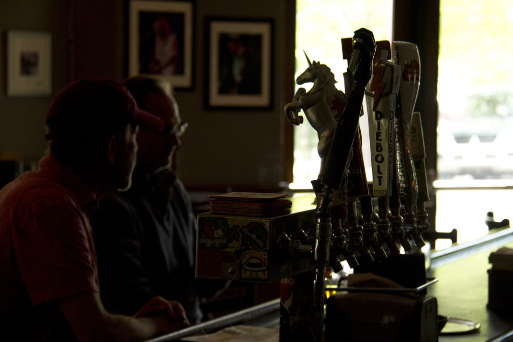 The taps at the Walnut Room. (Kevin J. Beaty/Denverite)