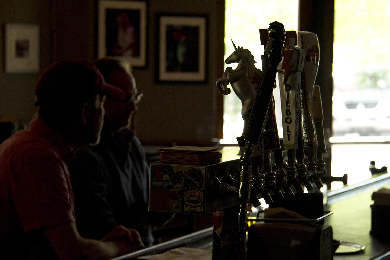The taps at the Walnut Room. (Kevin J. Beaty/Denverite)