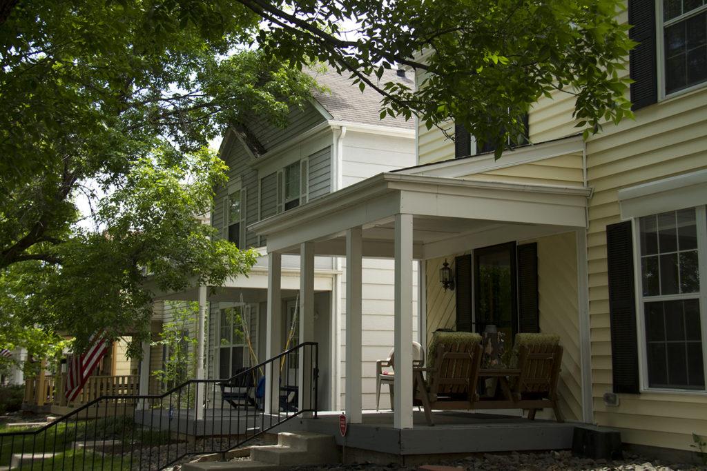 Angie Bonato's home in the West Highlands. (Kevin J. Beaty/Denverite)  residential; homes; houses; highlands; three bedroom; denver; colorado; denverite;