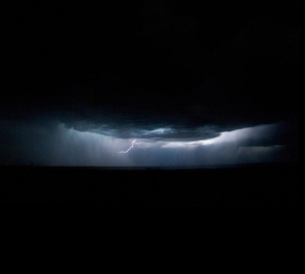 Lighting strikes! (Kevin J. Beaty)  lightning; weather; clouds; denverite; kevinjbeaty