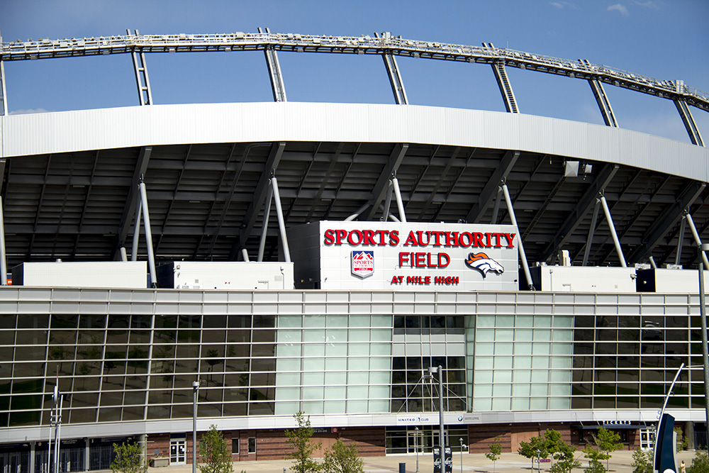 Sports Authority Field at Mile High. (Kevin J. Beaty/Denverite)  sports authority field; stadium; broncos; football; kevinjbeaty; denverite; denver; colorado;