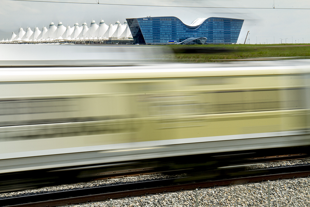 The A Line by DIA. (Kevin J. Beaty/Denverite)