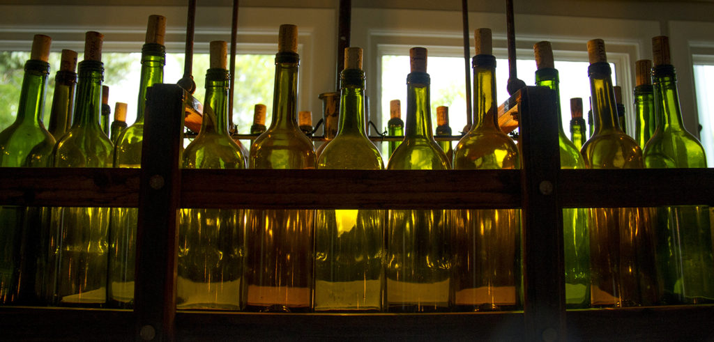 Bottles at Beast and Bottle. (Kevin J. Beaty/Denverite)