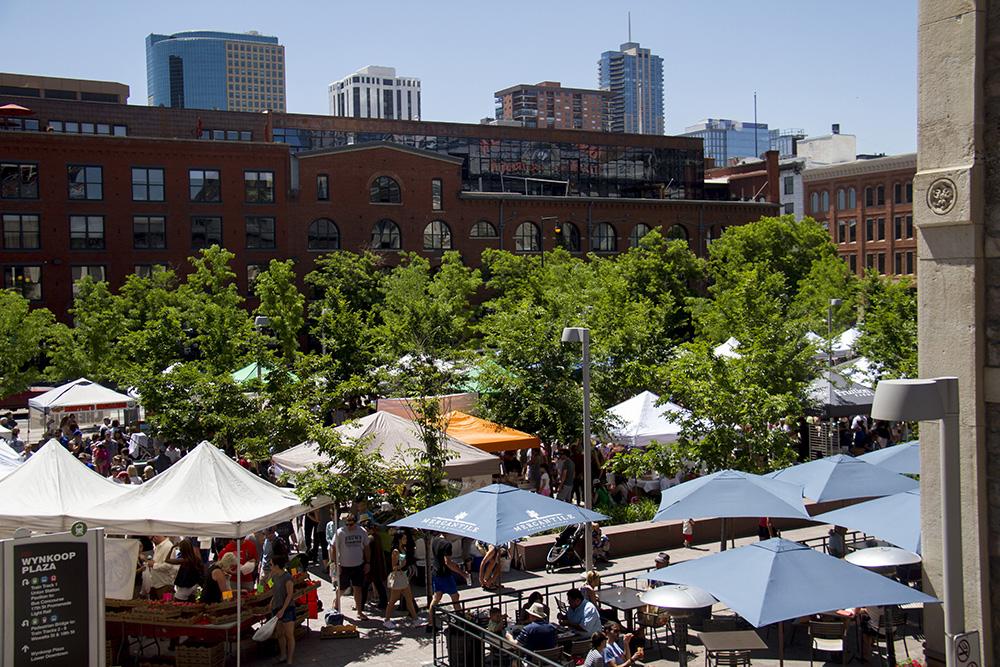 The Union Station farmers market. (Kevin J. Beaty/Denverite)  union station; food; farmers market; denver; denverite; colorado; kevinjbeaty