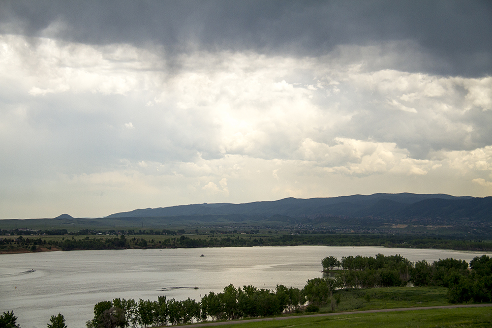 Chatfield Reservoir. (Kevin J. Beaty/Denverite)  chatfield; reservoir; water; lake; denver; littleton; denverite; kevinjbeaty