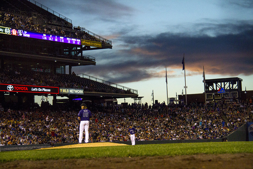 Jon Gray. Colorado Rockies vs San Diego Padres. June 11, 2016. (Kevin J. Beaty/Denverite)  rockies; colorado; baseball; denver; coors field; jon gray; kevinjbeaty; denverite;