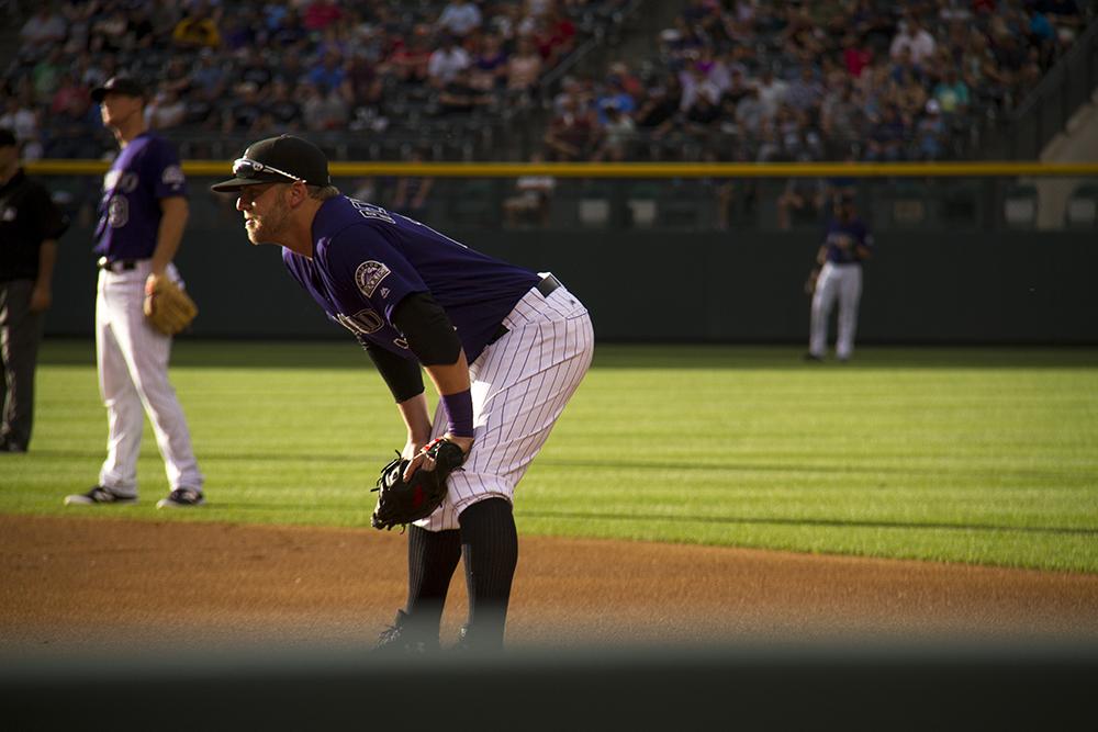 Mark Reynolds.  Colorado Rockies vs San Diego Padres. June 10, 2016.  (Kevin J. Beaty/Denverite)  colorado rockies; baseball; sports; coors field; denver; colorado; denverite