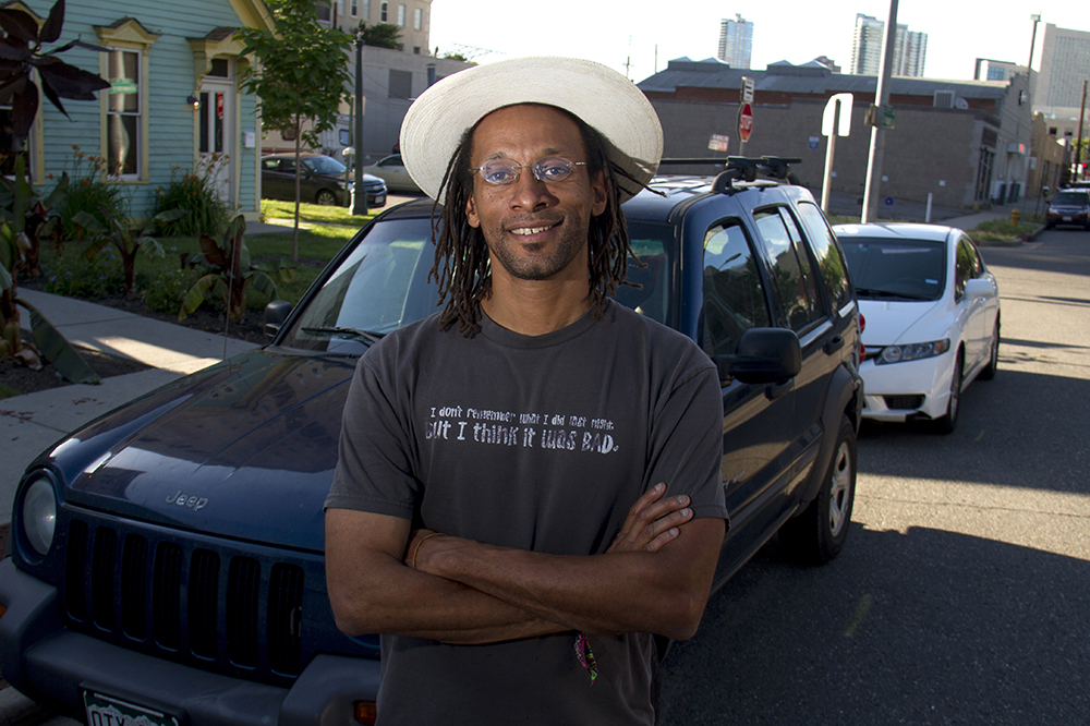 Brian Hewlett, the non-affiliated taxi driver. (Kevin J. Beaty/Denverite)  uber; transportation; denver; colorado; taxi; kevinjbeaty; denverite;