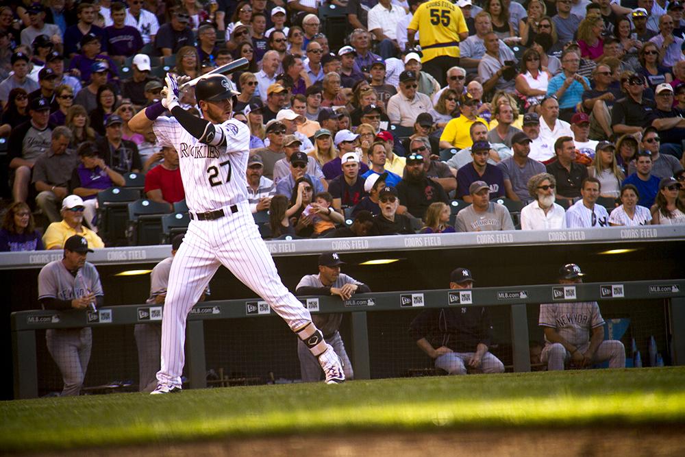Colorado Rockies vs New York Yankees. June 14, 2016.  (Kevin J. Beaty/Denverite)colorado rockies; baseball; sports; coors field; denver; colorado; denverite