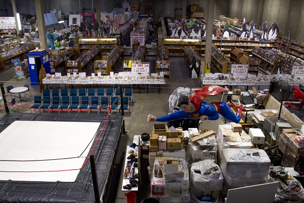 Mile High Comics, America's largest comics dealer. (Kevin J. Beaty/Denverite)
