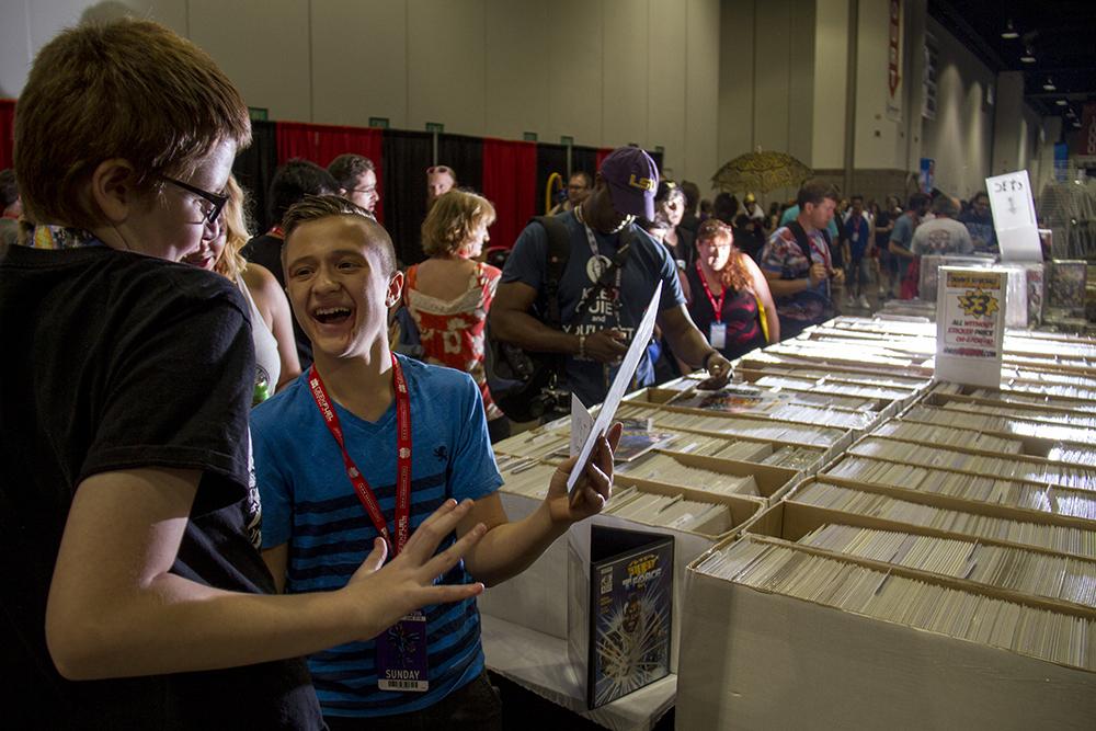 Fans for days. Denver Comic Con on June 19, 2016. (Kevin J. Beaty/Denverite)  denver comic con; convention center; denver; colorado; denverite; kevinjbeaty