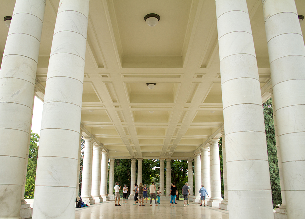 Cheesman Pavilion at Cheesman Park. (Kevin J. Beaty/Denverite)  park; summer; denver; denverite; colorado; kevinjbeaty