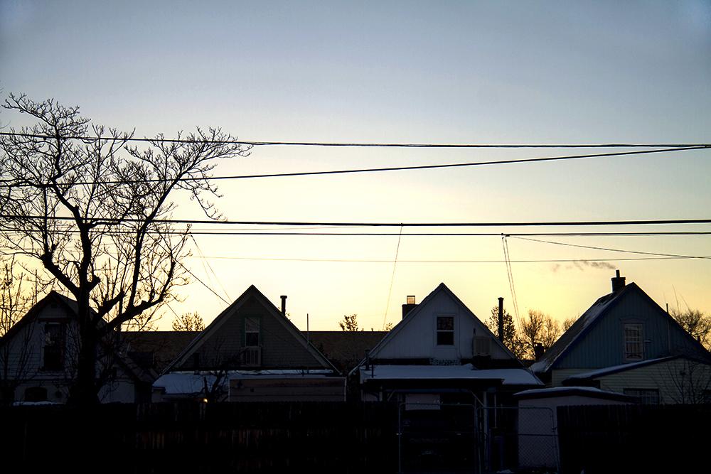 Dawn in Elyria-Swansea. (Kevin J. Beaty/Denverite)  elyria; swansea; denver; colorado; kevinjbeaty; denverite;
