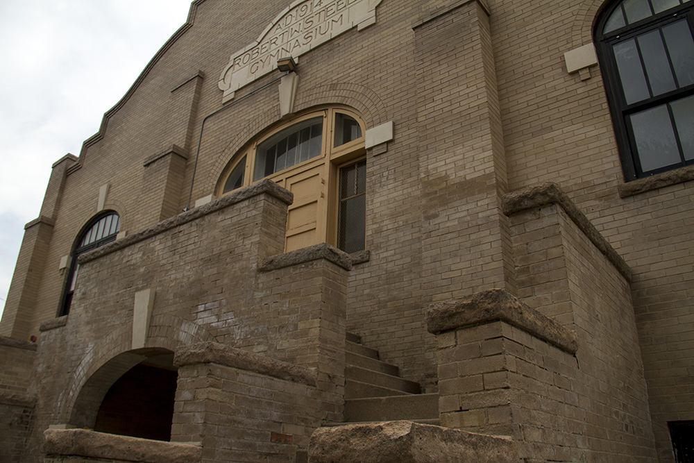 The Robert Steele Gymnasium in Berkeley. (Kevin J. Beaty/Denverite)  robert steele gymnasium; berkeley; denver; kevinjbeaty; denverite; colorado;
