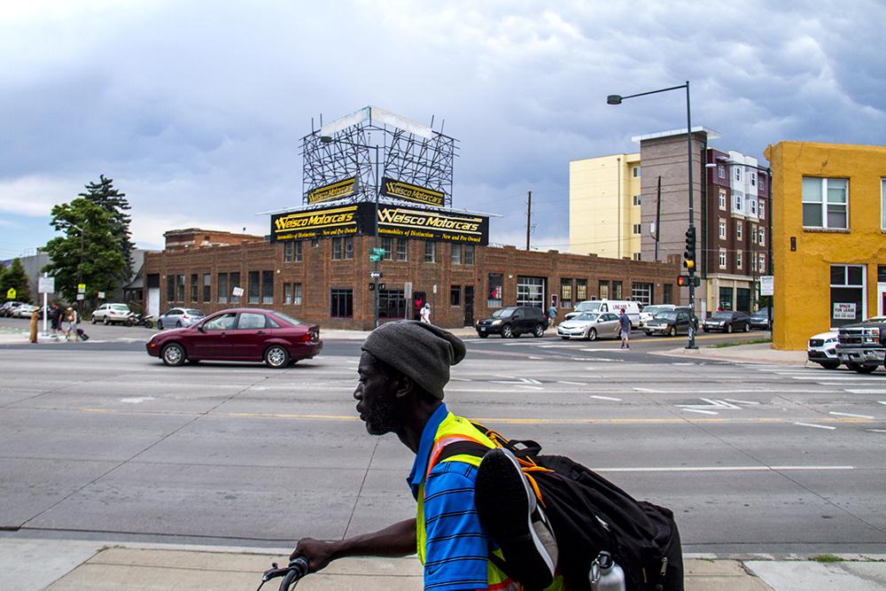 Arapahoe Square, Five Points. (Kevin J. Beaty/Denverite)