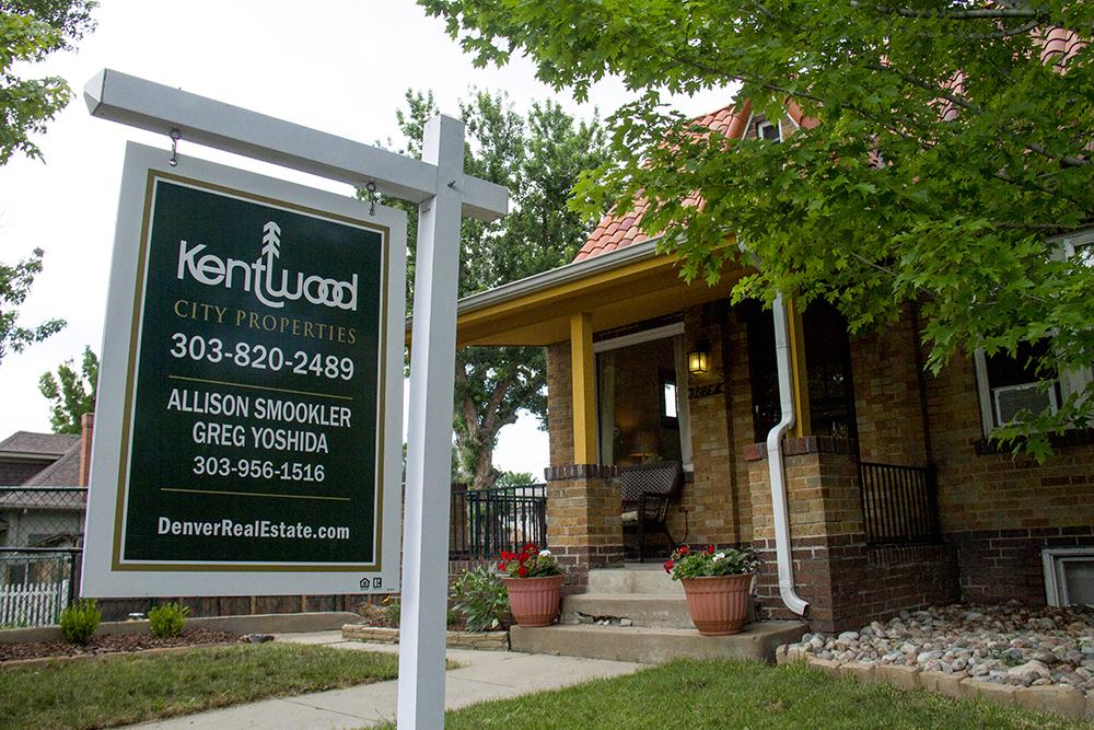 A home for sale by Kentwood City Properties in Berkeley. (Kevin J. Beaty/Denverite)  real estate; berkeley; kentwood; residential; denver; colorado; kevinjbeaty; denverite;
