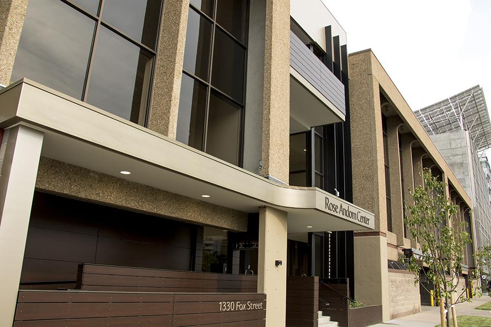 The Rose Andom Center (Kevin J. Beaty/Denverite)