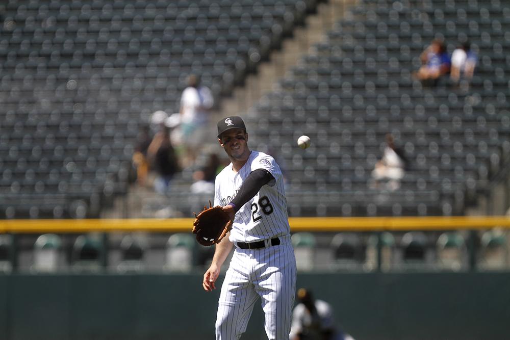 Colorado Rockies vs. Pittsburgh Pirates Coors Field, June 9, 2016. (Photo by Jessica Taves)  baseball; rockies; jessica taves; coors field; sports; denverite; denver; colorado;