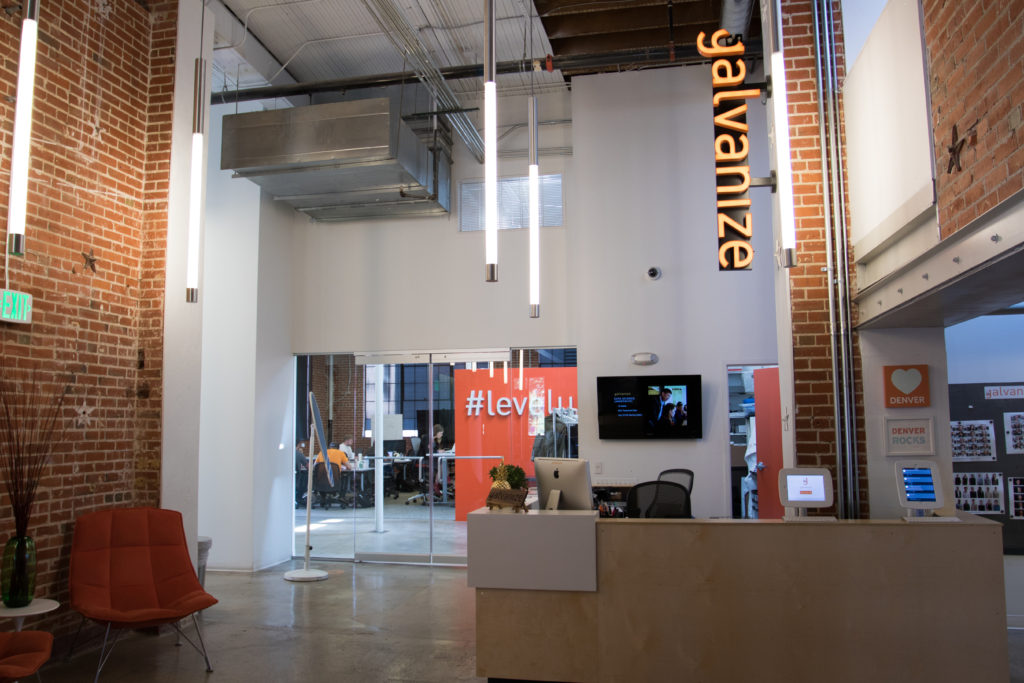 Galvanize's Golden Triangle office in Denver. Courtesy of Galvanize.