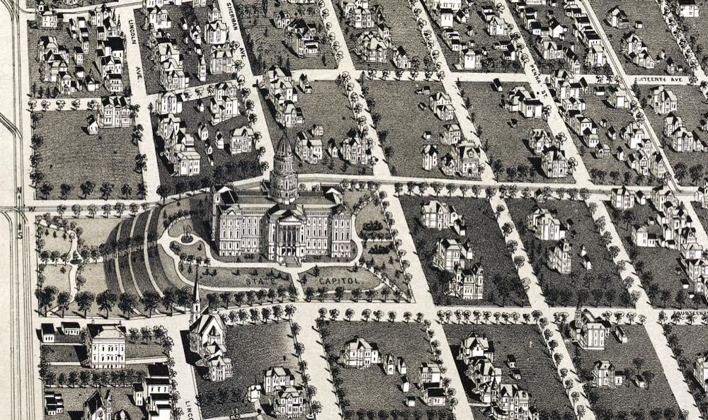 Capitol Hill 1889