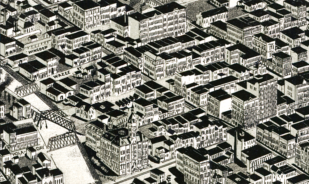 LoDo in 1889.  (Library of Congress)