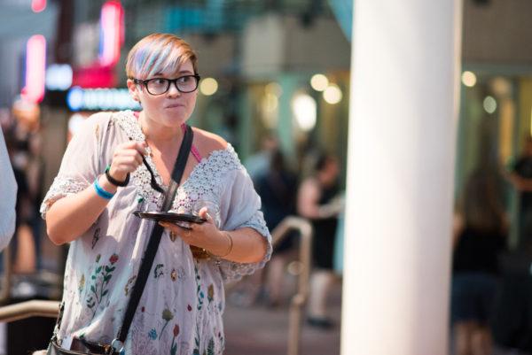 This woman is definitely enjoying The Big Eat. (Courtesy of Sprocket Communications)