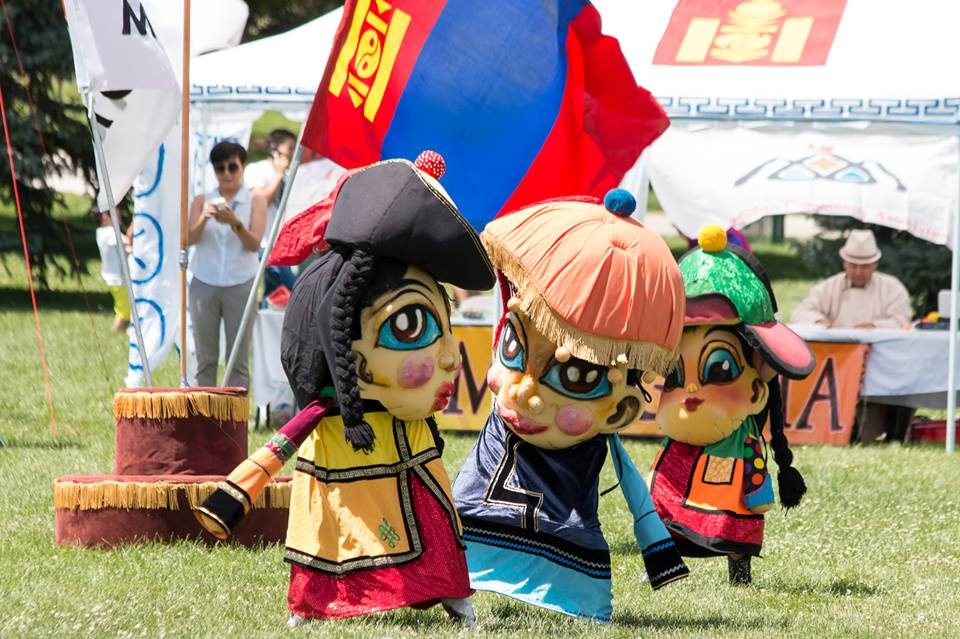 Nadaam Fest 2015 (Courtesy of Mongolian Culture and Heritage Center of Colorado)