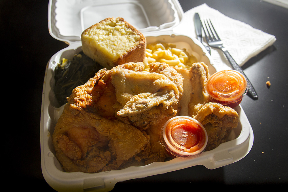 To-go fare from the Welton Street Cafe. (Kevin J. Beaty/Denverite)  food; welton street cafe; denver; colorado; denverite; kevinjbeaty