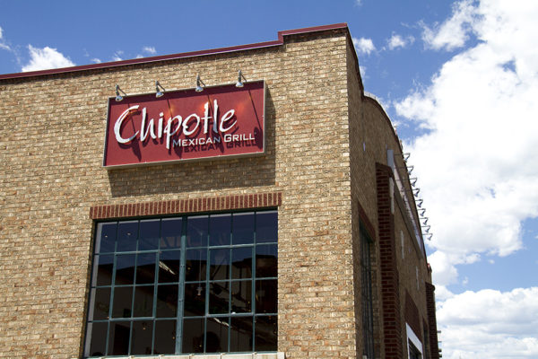 Chipotle on Broadway and 6th. (Kevin J. Beaty/Denverite)  chipotle; denver; colorado; denverite; kevinjbeaty