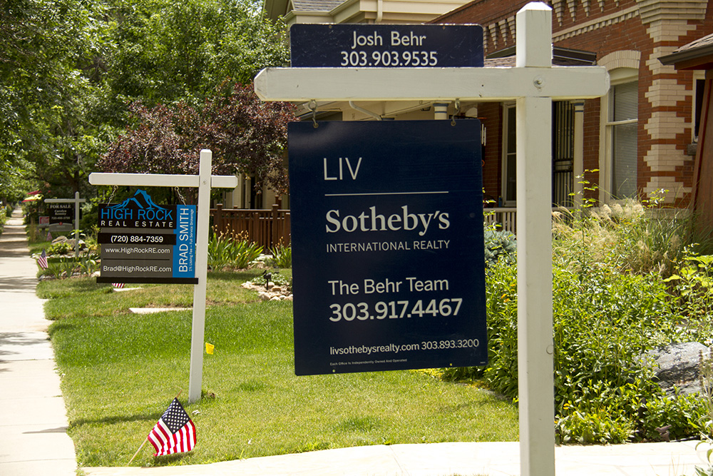 Homes for sale in Washington Park West. (Kevin J. Beaty/Denverite)  Washington Park West; real estate; denver; colorado; kevinjbeaty; denverite; residential