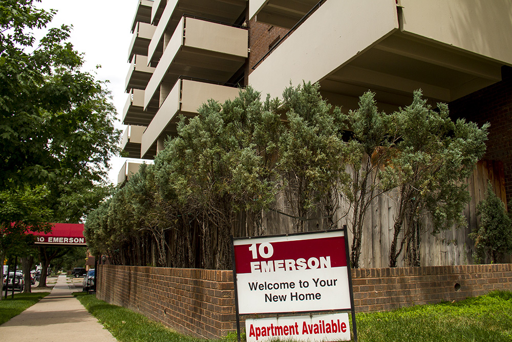 Apartments for rent in the Speer neighborhood. (Kevin J. Beaty/Denverite)  speer; real estate; denver; colorado; kevinjbeaty; denverite; residential