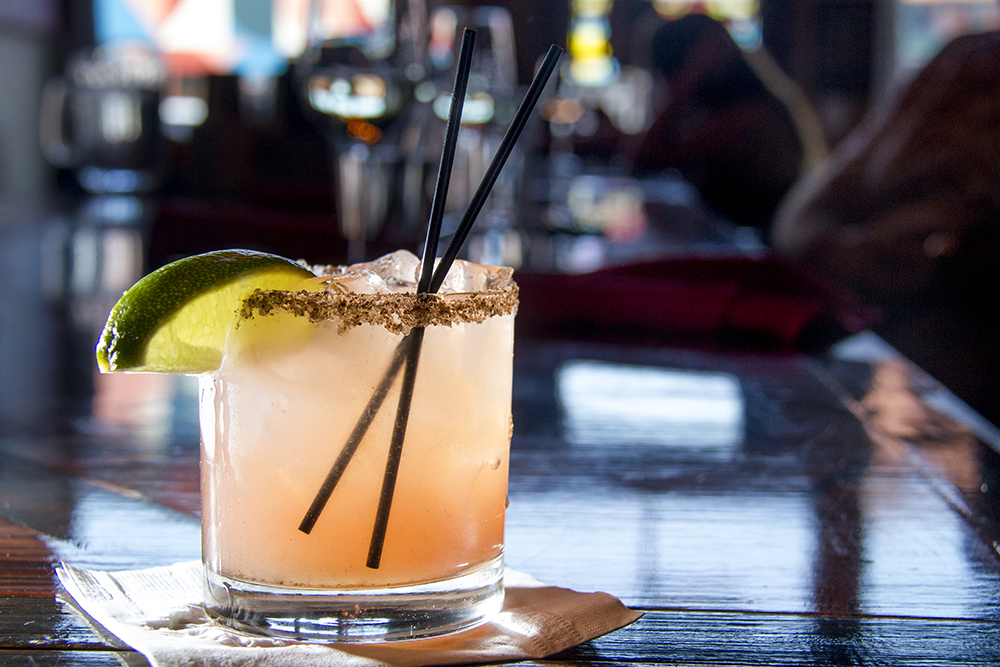The Meadowlark Kitchen's Smoked Margarita, Larimer Street. (Kevin J. Beaty/Denverite)  food; grapefruit cocktail; denver; drinks; nightlife; kevinjbeaty; denverite; colorado;