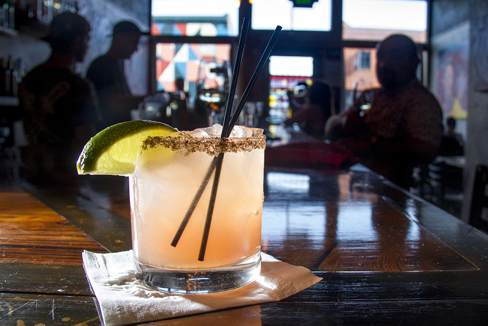 The Meadowlark Kitchen's Smoked Margarita, Larimer Street. (Kevin J. Beaty/Denverite)  food; grapefruit cocktail; denver; drinks; nightlife; kevinjbeaty; denverite; colorado;