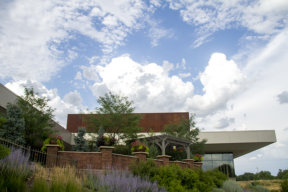 The Parker Arts, Culture and Events Center in downtown Parker. (Kevin J. Beaty/Denverite)  denver; performance; performing arts; theater; kevinjbeaty; denverite; colorado; pace; parker;
