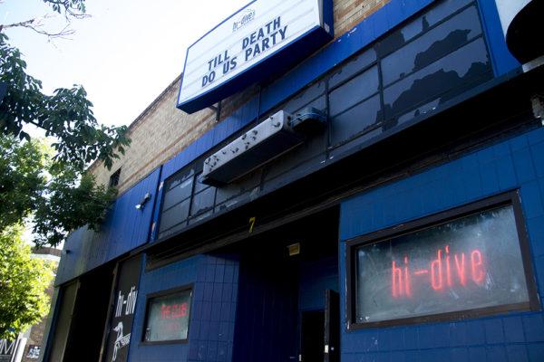 The Hi Dive on South Broadway. (Kevin J. Beaty/Denverite)  hi dive; bar; food; night life; denver; kevinjbeaty; colorado; denverite