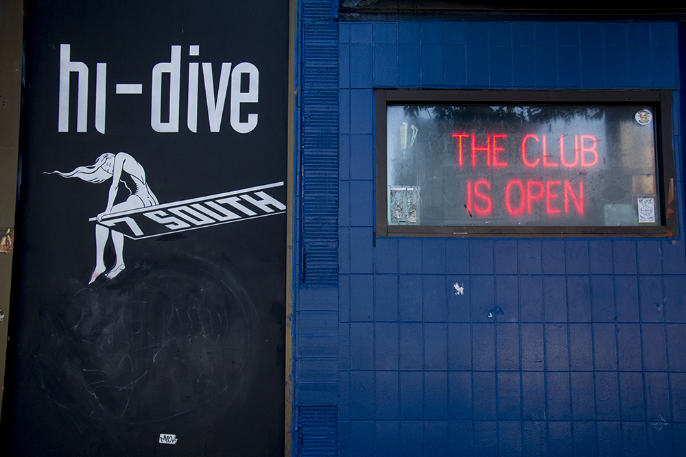 The Hi Dive on South Broadway. (Kevin J. Beaty/Denverite)  hi dive; bar; food; night life; denver; kevinjbeaty; colorado; denverite