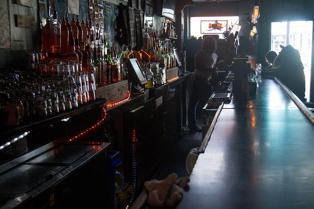 Inside the Hi Dive on South Broadway. (Kevin J. Beaty/Denverite)