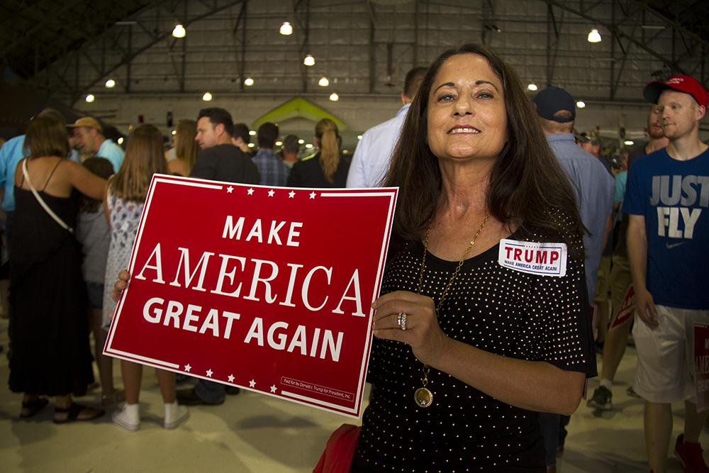 Donald Trump rally. July 29, 2016. (Kevin J. Beaty/Denverite)  donald trump; politics; election; vote; denver; colorado; republican; denverite; kevinjbeaty