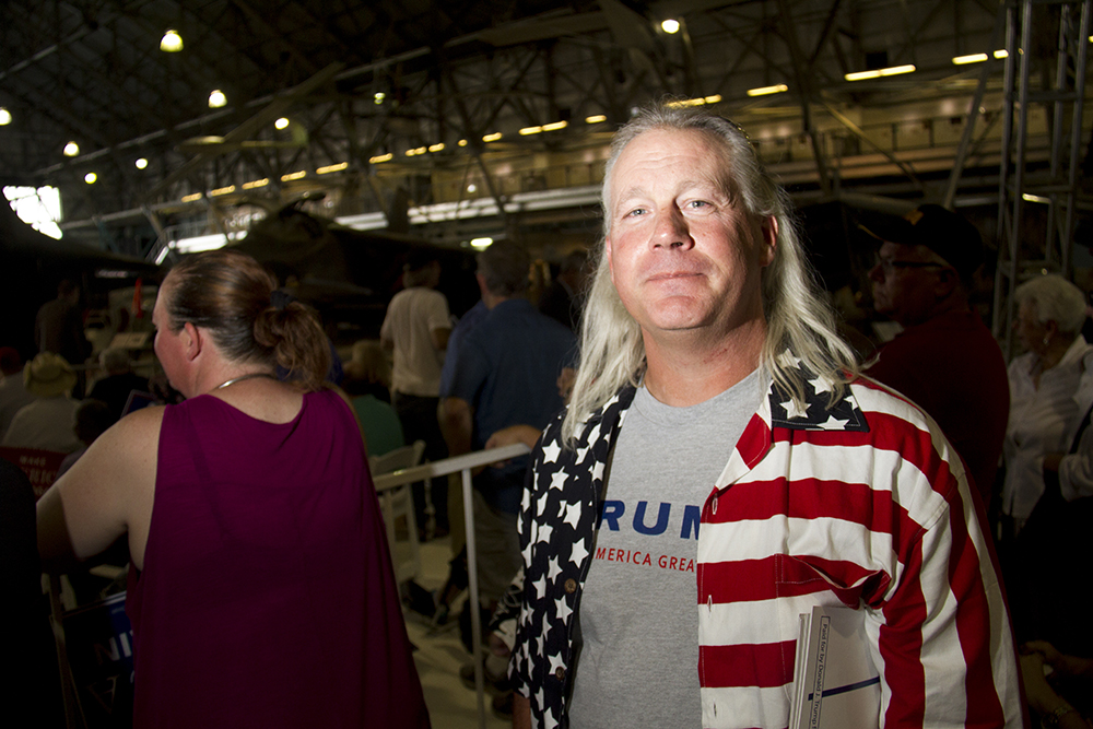 Donald Trump Rally. July 29, 2016. (Kevin J. Beaty/Denverite)  donald trump; politics; election; vote; denver; colorado; republican; denverite; kevinjbeaty