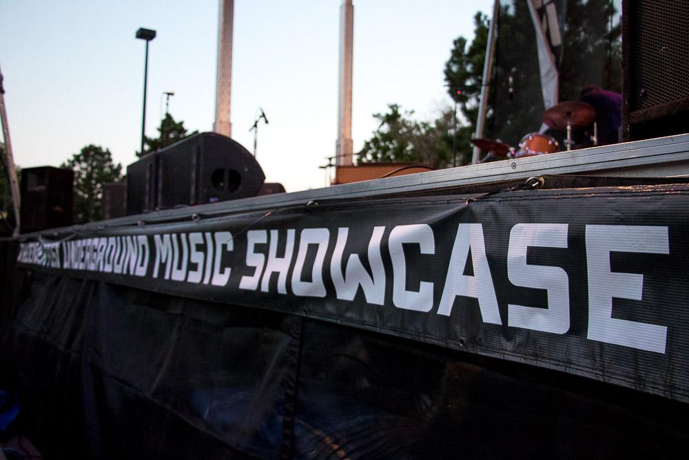 Underground Music Showcase main stage - UMS (Chloe Aiello/Denverite)