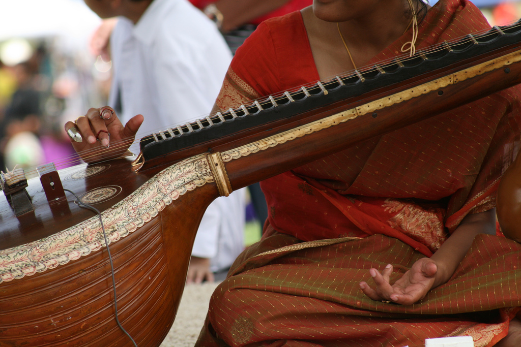 A musician at the Colorado Dragon Boat Festival in 2008. (Tom Pratt/Flickr)