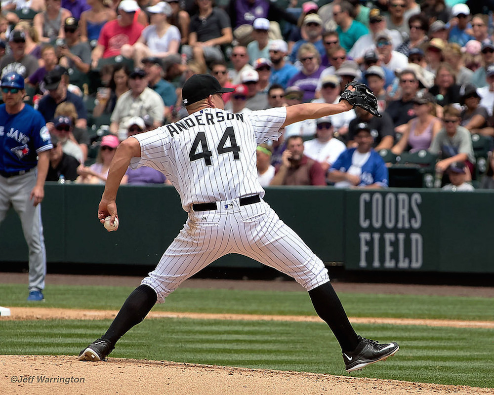 Tyler Anderson has a 3.26 ERA at Coors Field this year. (Jeff Warrington, via Flickr)