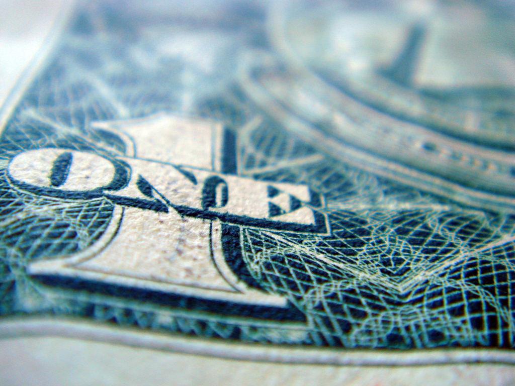 One dollar. (Flickr/Chris Dlugosz)