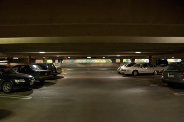 A parking lot at the Cherry Creek Shopping Center (Forrest Norvell/Flickr)